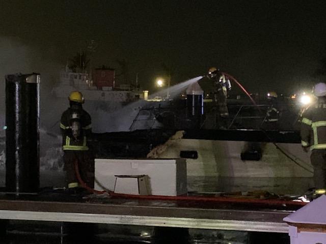 Boat Fire In Dockyard Bermuda Jan 2020 (4)