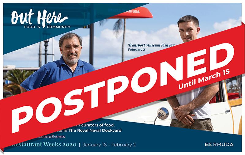 Fish Fry Postponed Bermuda Jan 31 2020