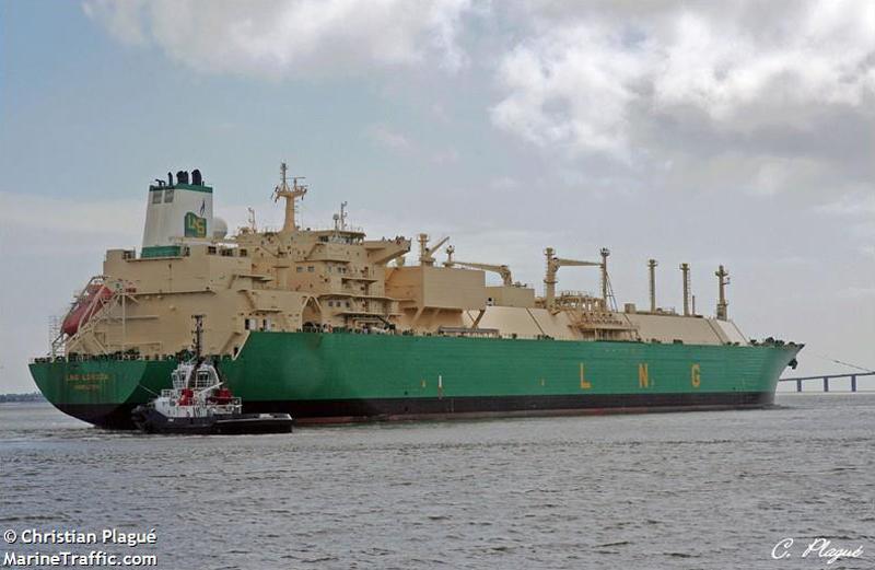 LNG Lokoja Bermuda Jan 2 2020
