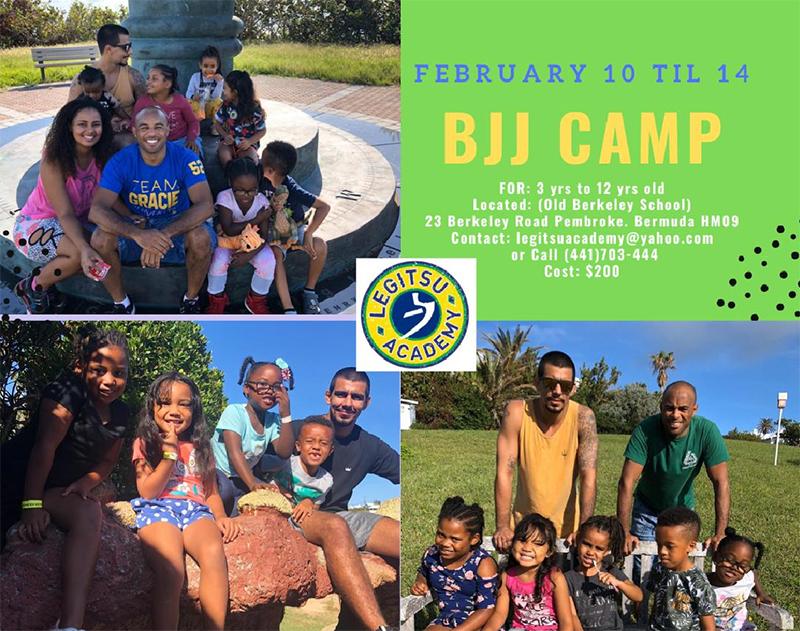 Legitsu Academy BJJ Camp Bermuda Jan 2020