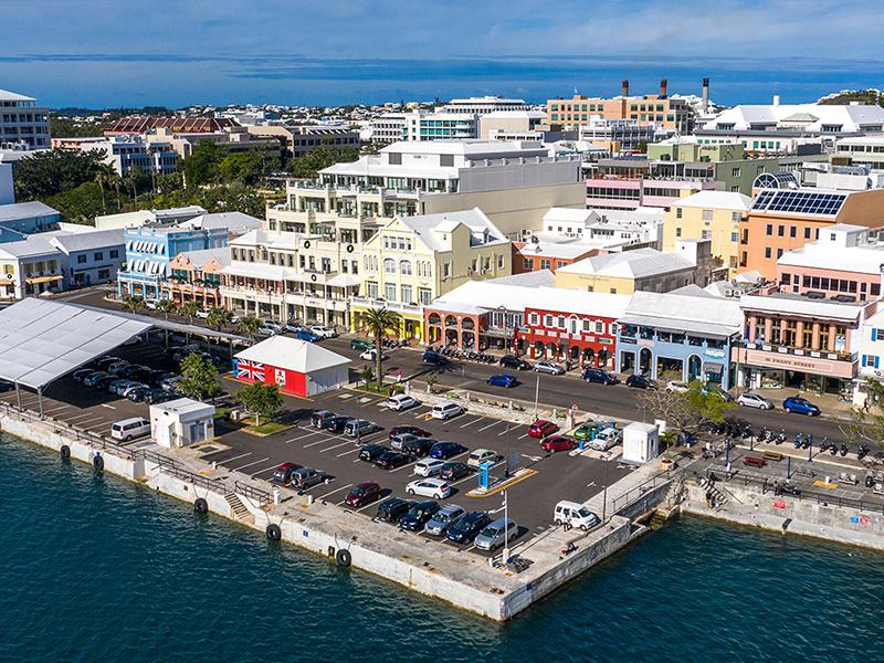 Walker Arcade & The Calypso Building Bermuda Jan 2020 (2)