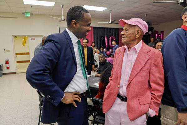 100th Birthday Of  Harold Smith Bermuda Feb 2020 (2)