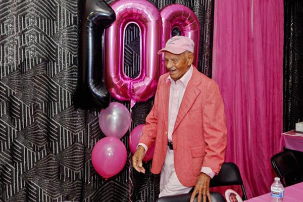 100th Birthday Of  Harold Smith Bermuda Feb 2020 (3)