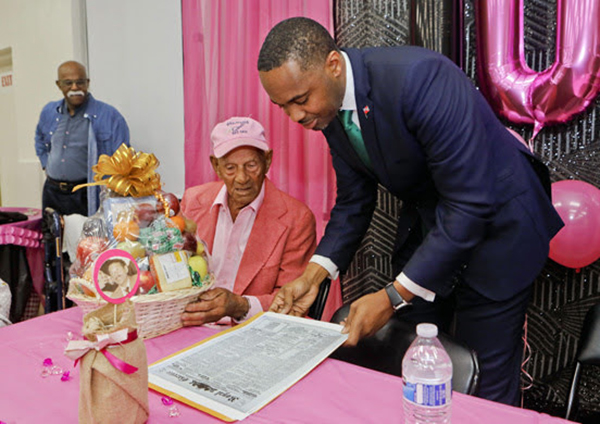 100th Birthday Of  Harold Smith Bermuda Feb 2020 (6)