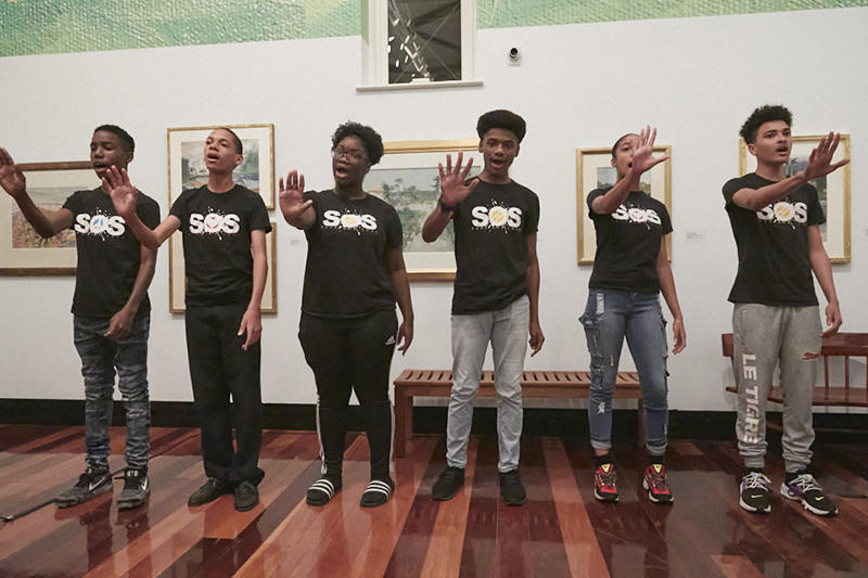Anti-Violence Art Exhibit Bermuda Feb 2020 (5)