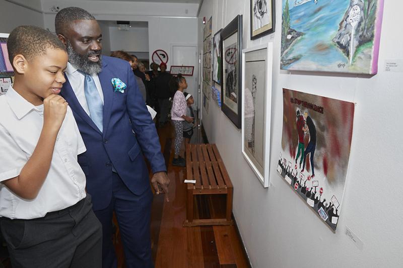 Anti-Violence Art Exhibit Bermuda Feb 2020 (6)