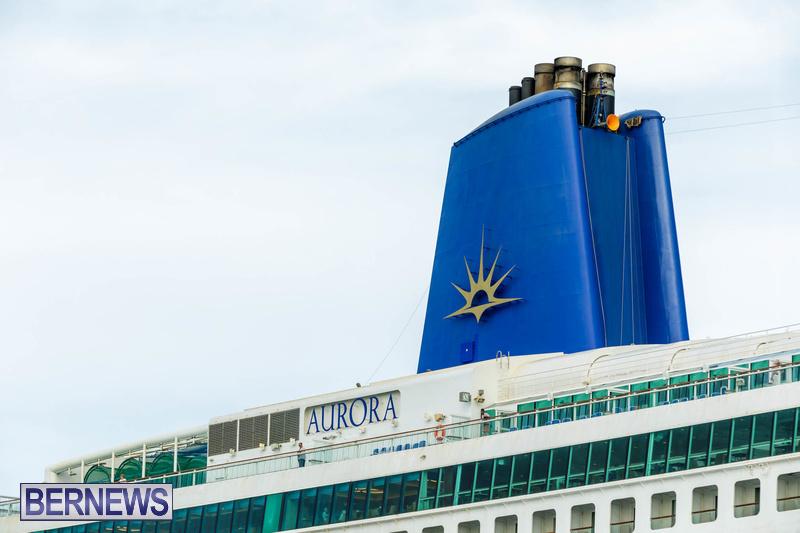 Aurora cruise ship in Bermuda Feb 2020 Dockyard (3)