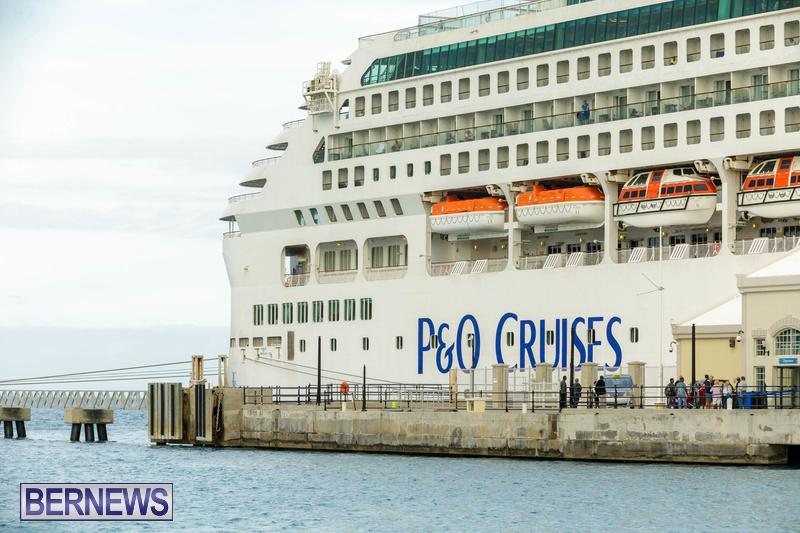 Aurora cruise ship in Bermuda Feb 2020 Dockyard (4)