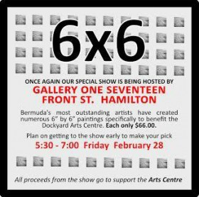 Bermuda Arts Centre 6x6 show Feb 2020