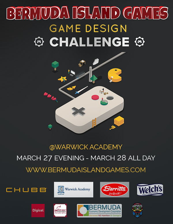 Bermuda Island Games Video Game Design Challenge Feb 2020