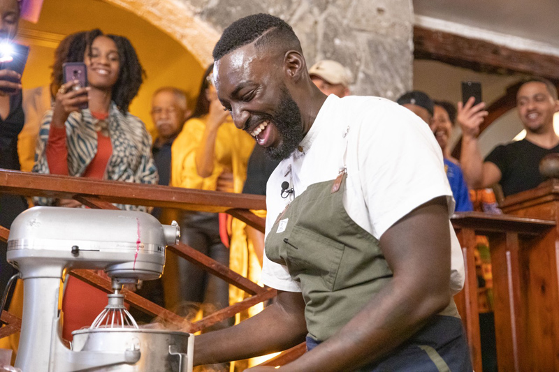 Chef Eric Adjepong Bermuda February 2020