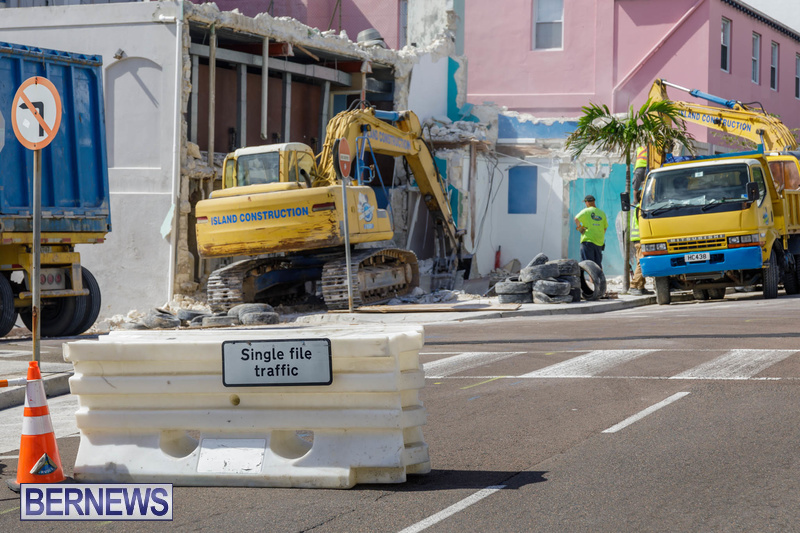 Demolition of Valerie T Scott building Bermuda February 2020 (10)