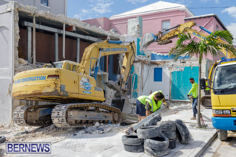 Demolition of Valerie T Scott building Bermuda February 2020 (5)