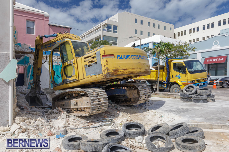 Demolition of Valerie T Scott building Bermuda February 2020 (7)