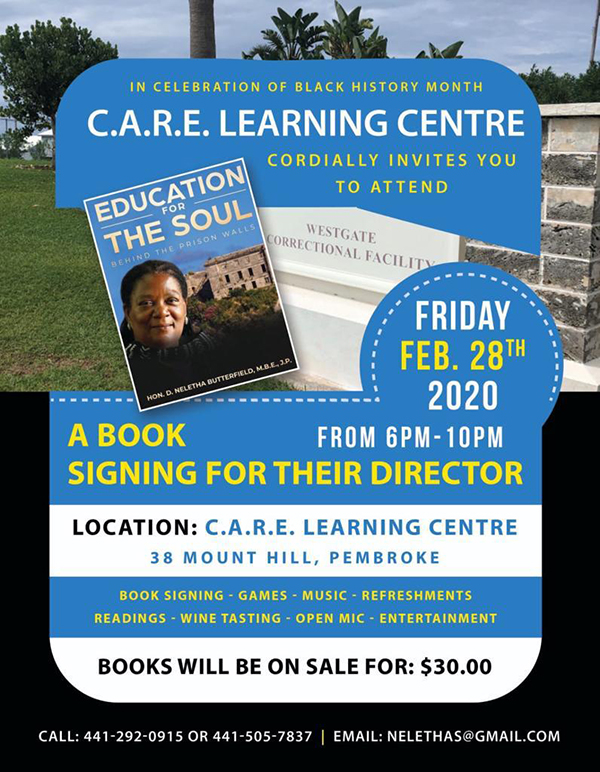 Education For The Soul Book Bermuda Feb 2020