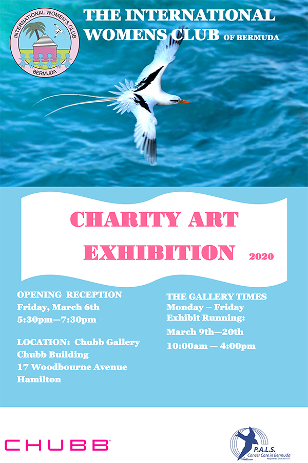 IWC Art Exhibiton Bermuda Feb 2020