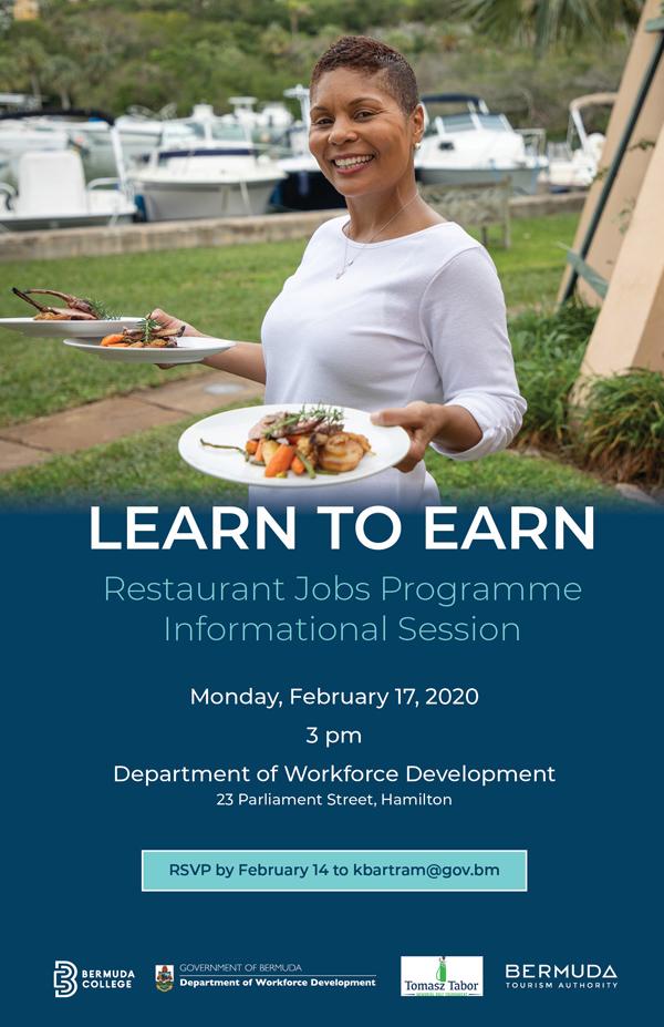 Learn to Earn Bermuda February 2020