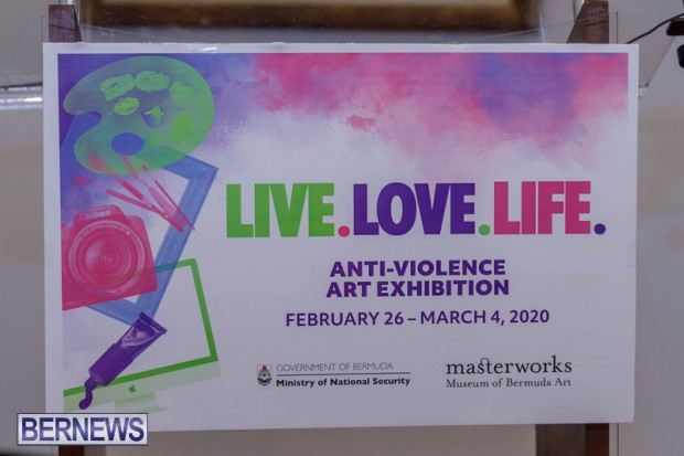 Live. Love. Life. Anti-Violence Art Exhibition Bermuda Feb 2020 (14)