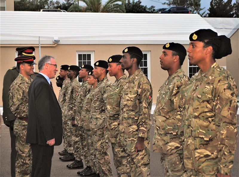 New RBR Soldiers Bermuda Feb 29 2020 6
