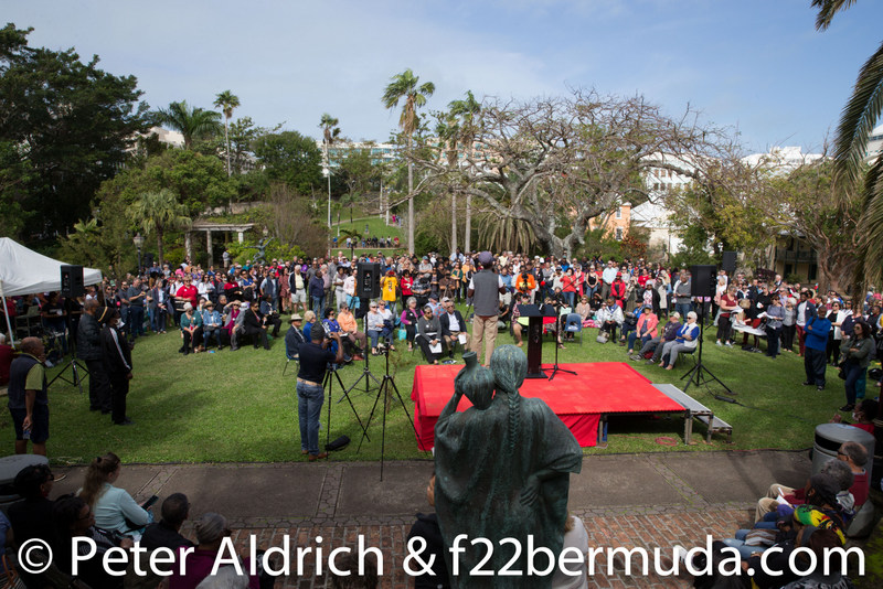 Patients-First-2020-rally-Bermuda-health-Feb-3