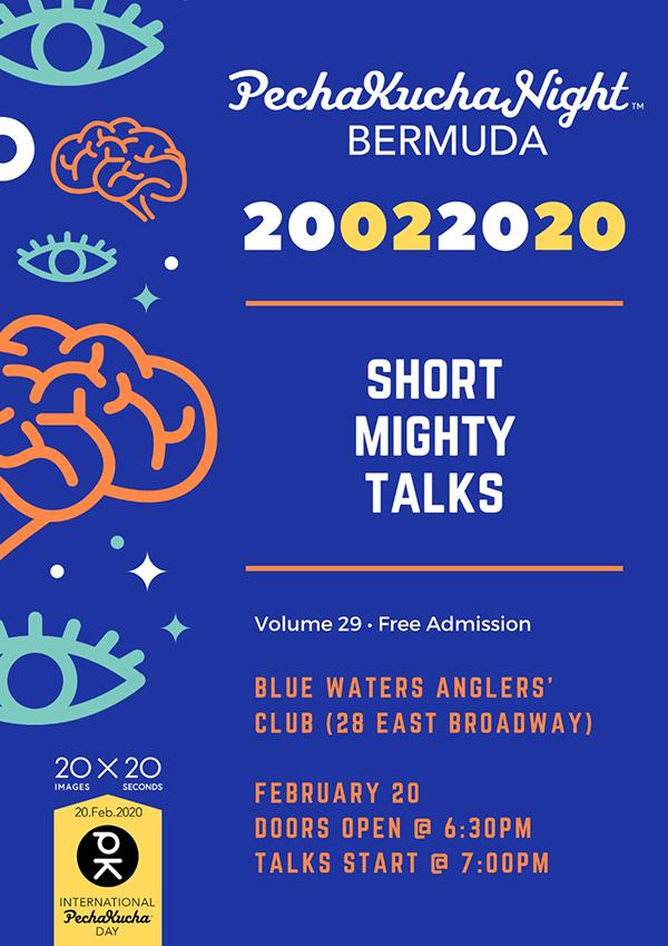 PechaKucha 29th Edition Bermuda Feb 2020