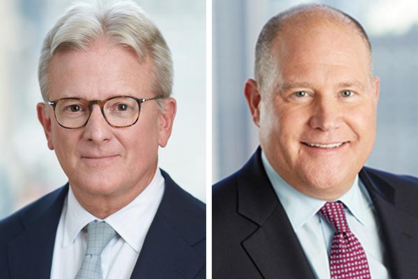 Peter Hearn & Robert Bentley Guy Carpenter Bermuda Feb 2020
