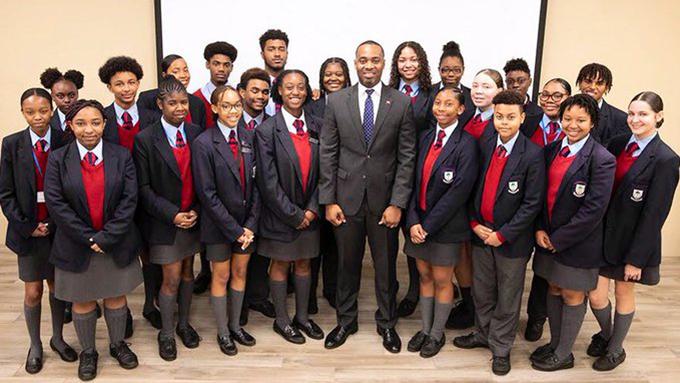 Premier Attends CedarBridge Academy Seminar Bermuda Feb 2020
