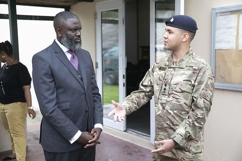 Premier & Minister Caines Visit RBR Recruits  Bermuda Feb 2020 (6)