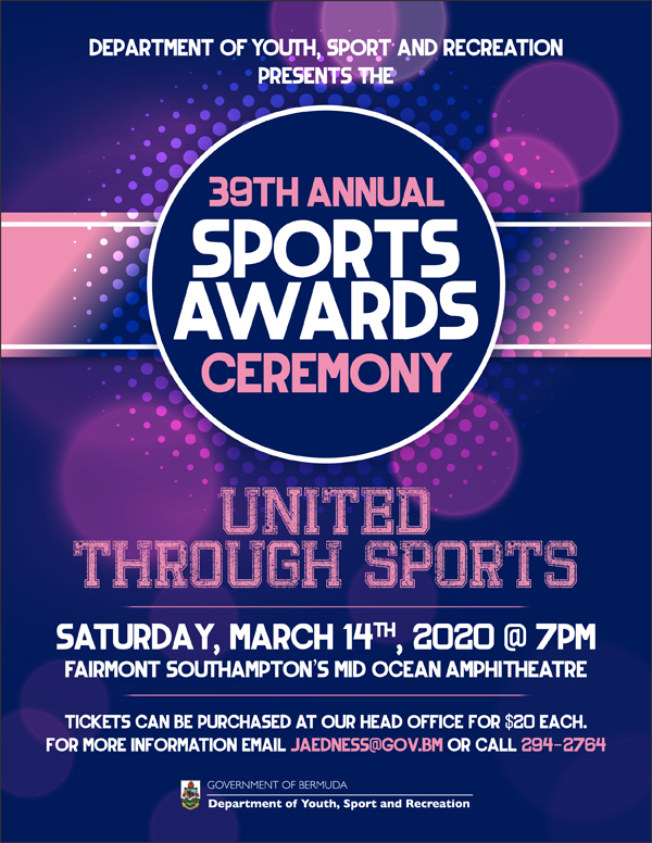 Sports Awards Bermuda March 2020
