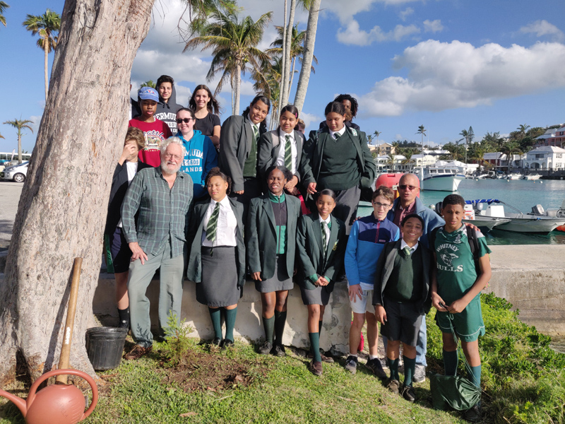 Student's Benefit from Collaboration Bermuda Feb 2020