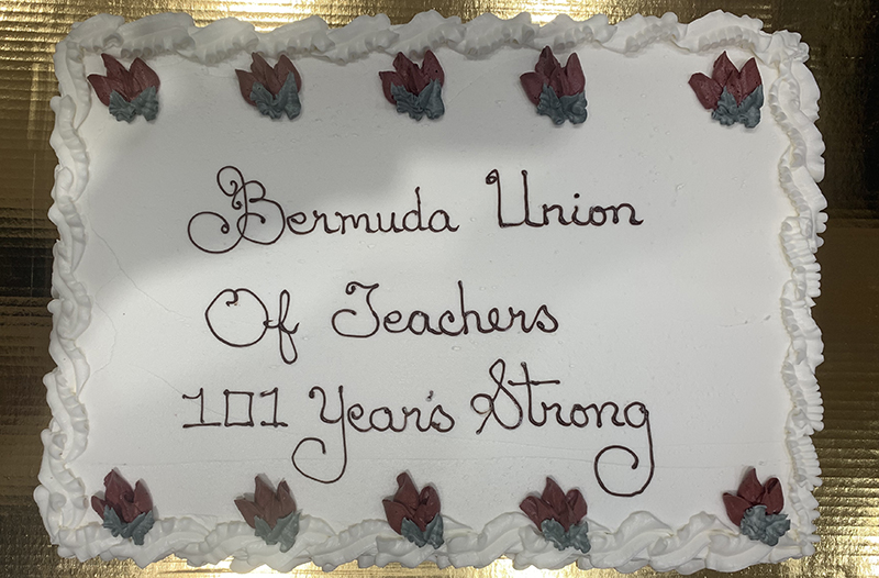 Teachers Union Salutes 100 Years For Posterity Bermuda Feb 2020 (1)