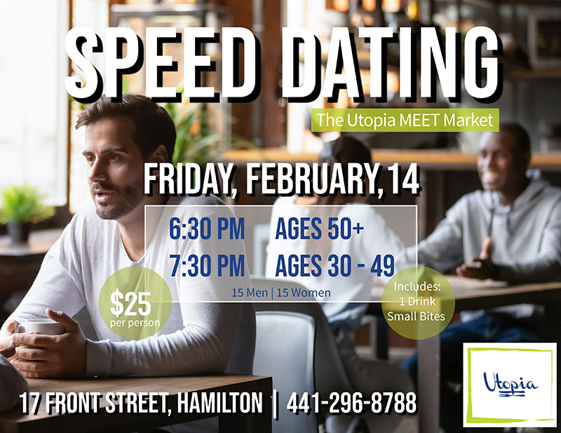 Utopia Speed Dating Event Feb 2020