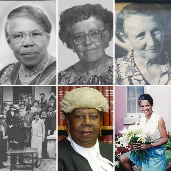 5 Women Pioneers of 20th Century Bermuda March 2020