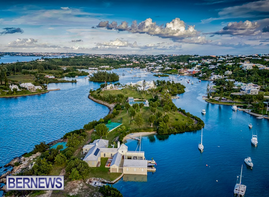 516 - The Islands that make up Bermuda are beautiful from any angle, but more so from the air