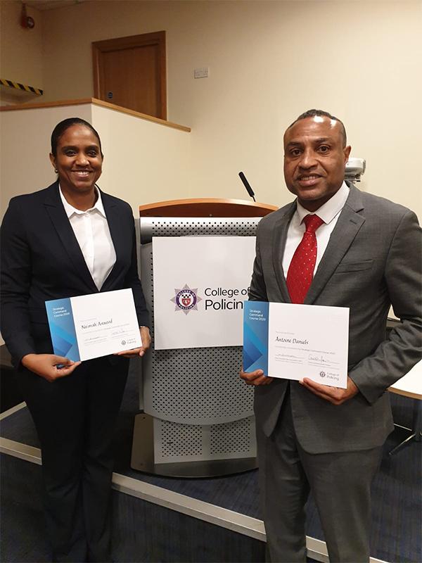 Antoine Daniels & Na'imah Astwood Bermuda March 2020