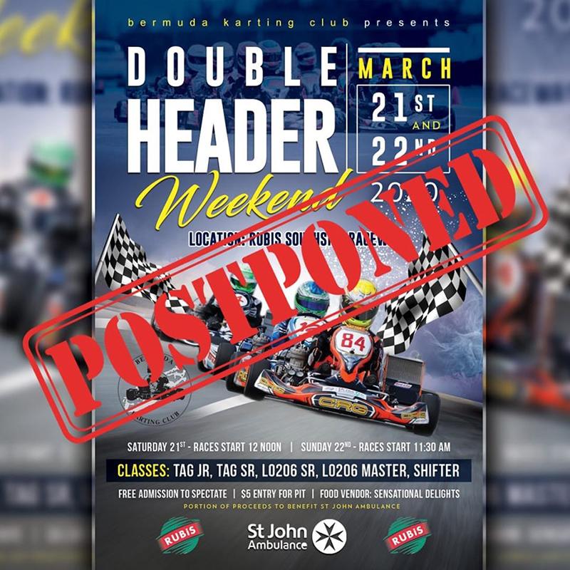 Bermuda Karting Club Double Header March 2020