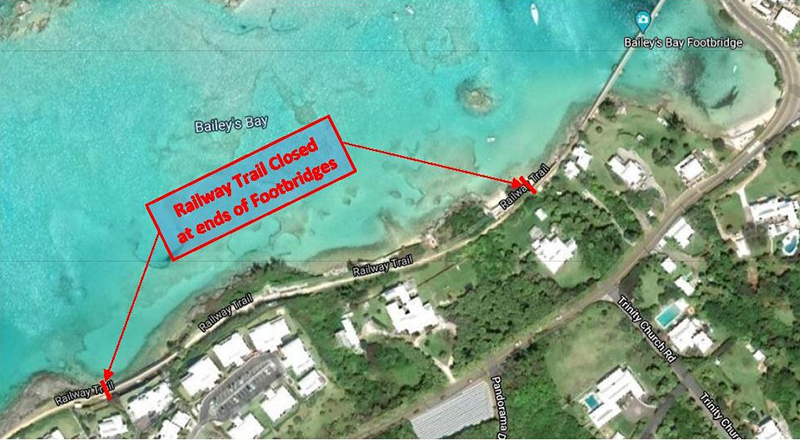 Closed Section Bermuda March 1 2020