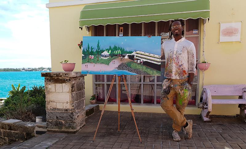 Dejavon Paynter Bermuda March 2020