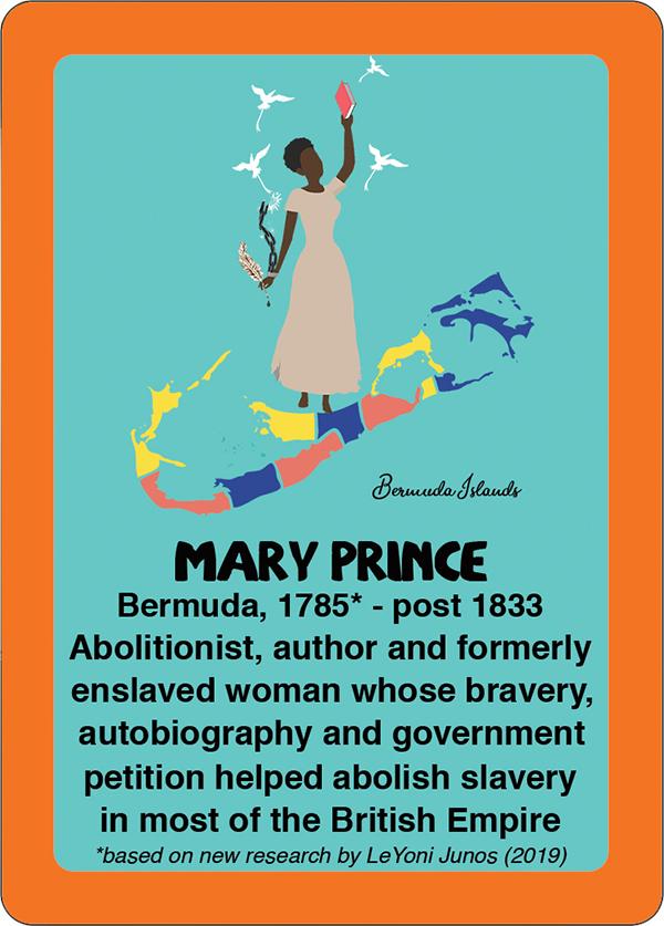 Mary Prince Bermuda March 2020
