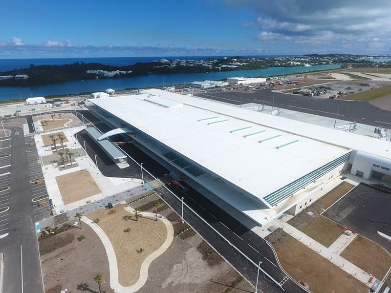 Passenger Terminal Building Bermuda March 2020 (1)