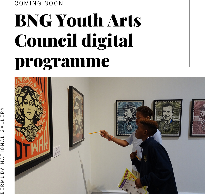 BNG Youth Arts Council Digital Programme Bermuda April 2020