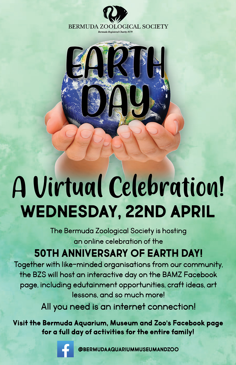 BZS Earth Day Online Event Bermuda April 22 2020