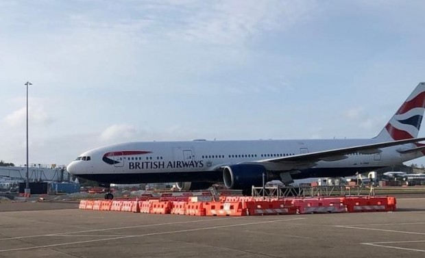 British Airways flight arrives in Bermuda April 24 2020 (2)