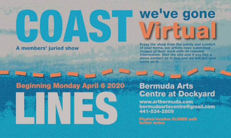 Coast Lines Art Show Bermuda April 2020