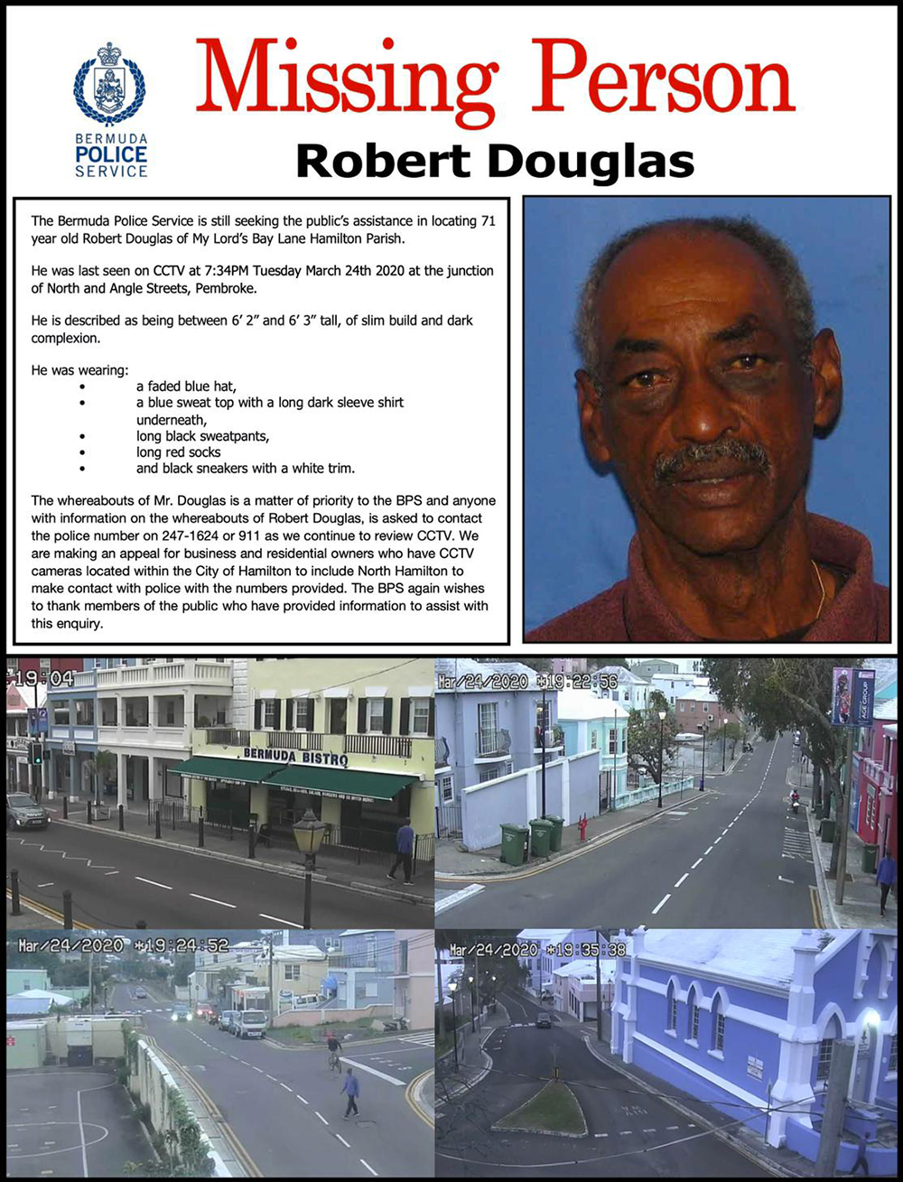 New Robert Douglas Poster Bermuda April 22 2020