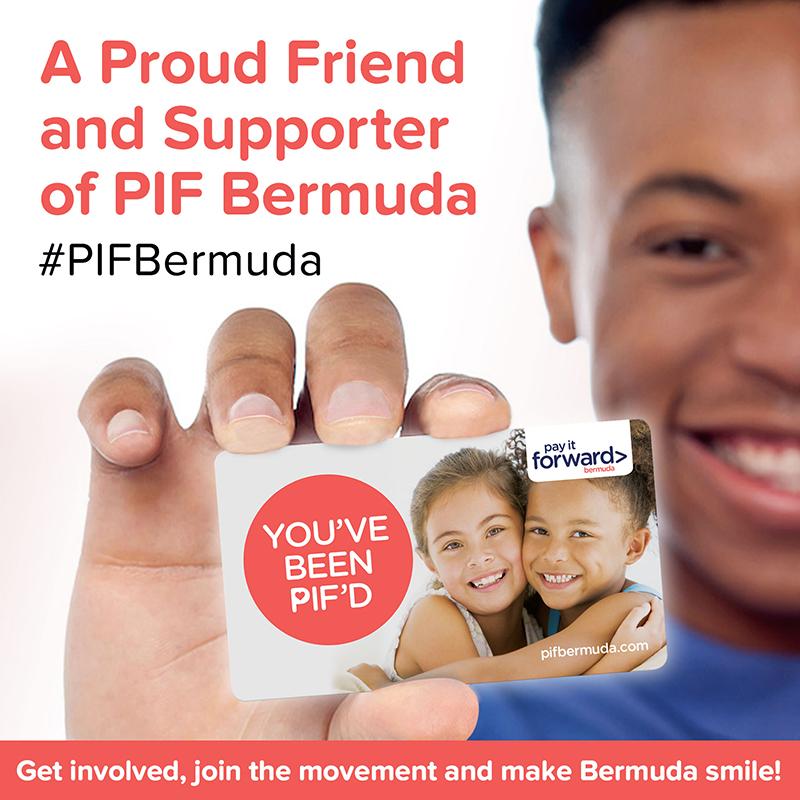 Pay It Forward Bermuda April 2020