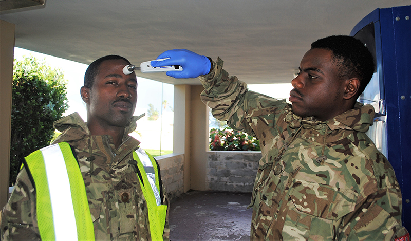 RBR Troops New Covid-19 Rules Bermuda April 2020 (2)