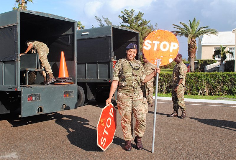 RBR Troops New Covid-19 Rules Bermuda April 2020 (3)