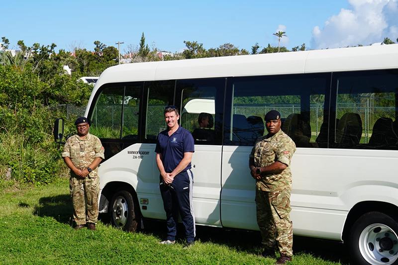 Warwick Academy Mini Buses Bermuda April 2020 (2)
