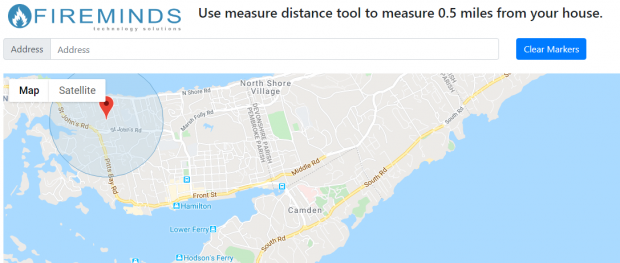 fireminds took to help measure distance
